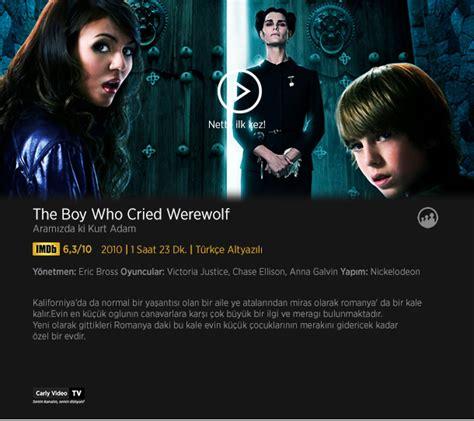 werewolf boy cried tv