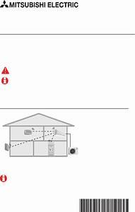 Mitsubishi Electric Mcch1 Remote Control Installation