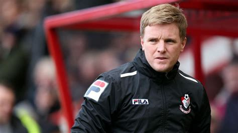 Championship: Bournemouth boss Eddie Howe relishing ...
