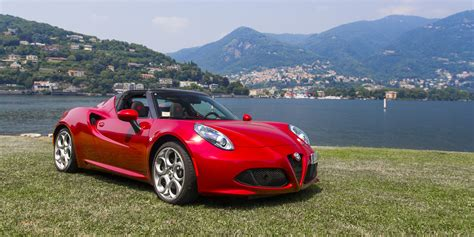 Alfa Romeo Spider Review by Alfa Romeo 4c Spider Review Caradvice