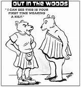Kilt Drawing Getdrawings Woods sketch template