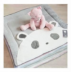 tapidou panda tapis d39activite et d39eveil pour bebe With tapis chambre bébé avec avis le champ de fleurs