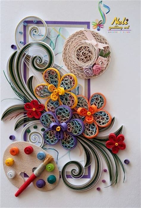 astonishing quilling artworks picturescraftscom