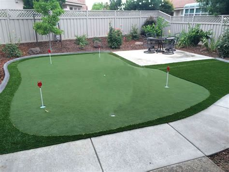 putting green size sacramento putting greens sierra synthetic putting greens