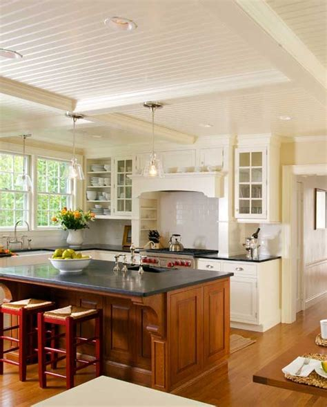 kitchen cabinets with countertops new classic kitchen in a cape cod federal oak island 6466