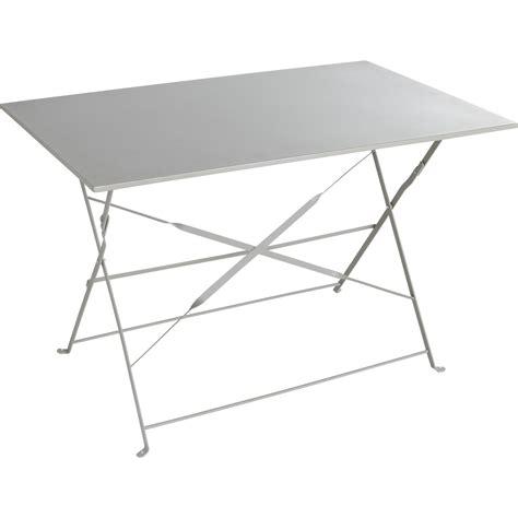 leroy merlin cuisine catalogue table de jardin naterial flore rectangulaire gris 4
