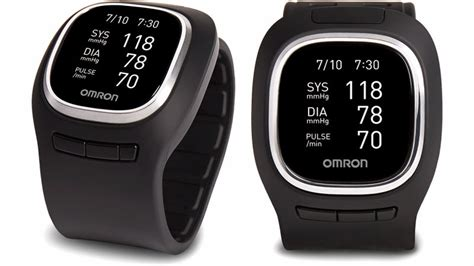 omron squeezed  inflatable blood pressure monitor