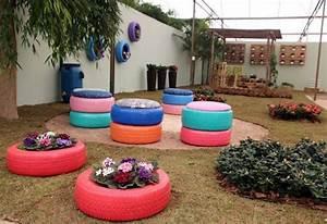 Deco Jardin Pas Cher : am nagement jardin 105 photos pour votre petit coin de ~ Premium-room.com Idées de Décoration