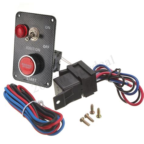 Boat Manufacturers That Start With P by 12v Ignition Push Button Engine Start Starter Switch Panel