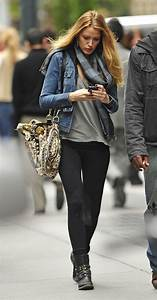 50 Great Blake Lively Street Style Outfits | Denim jackets ...