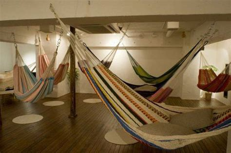 Tag Agency Hammocks by Don T Touch The Ground In Tokyo S Relaxing Hammock