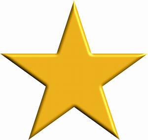 Clipart - Gold Star
