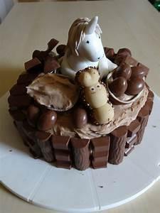 Einhorn Kinderschokoladen Torte Von Blubbernlschen Chefkoch
