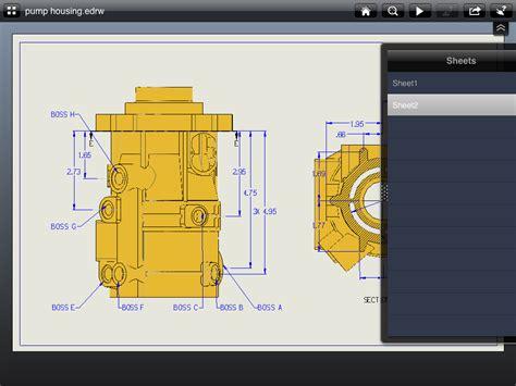 edrawings ipad app review  engineer