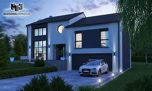 Constructeur Maison Metz : maison horizon metz maison horizon metz terrain maison ~ Melissatoandfro.com Idées de Décoration