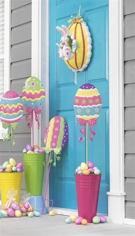 Garden Decoration To Make by 40 Outdoor Easter Decorations Ideas To Make