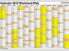 Ferien RheinlandPfalz 2016 Übersicht der Ferientermine