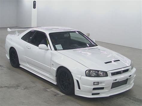 2002 Nissan Skyline R34 Gt R Japanese Used Cars Auction