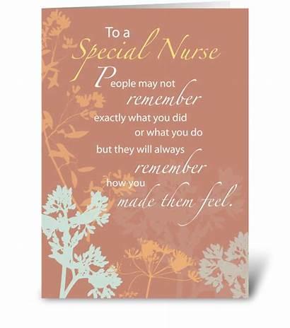 Thank Nurse Nurses Greeting Cards Happy Brown