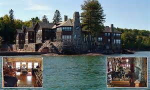 world s most expensive log cabin granot loma up for sale for 40m on michigan s lake superior