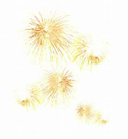 Fireworks Artificiales Fuegos Dazzling Dorados Effect Decorative