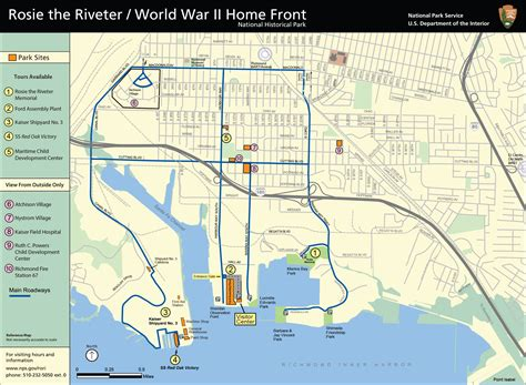 maps rosie  riveter wwii home front national