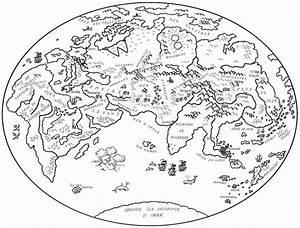 Carte Du Monde Noir : carte du monde noir et blanc ~ Teatrodelosmanantiales.com Idées de Décoration