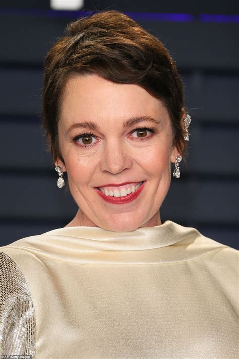 Oscars Olivia Colman Brings Down The House With