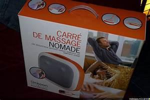 Coffret De Massage Nature Et Decouverte : test coussins massants relax take it easy ~ Premium-room.com Idées de Décoration