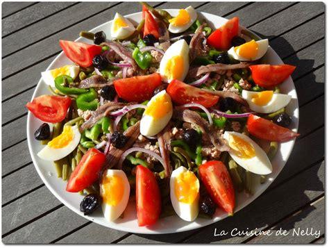 cuisine vapeur recettes salade niçoise ou pas la cuisine de nelly