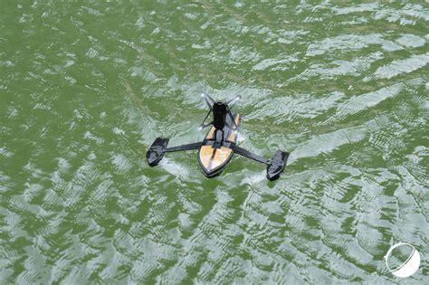 prise en main du parrot hydrofoil drone lhybride hydroptere quadricoptere frandroid