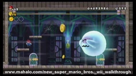 New Super Mario Bros Wii Walkthrough World 7 Ghost