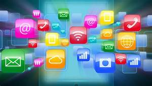 Cool Technology Icons Software HD Backgrounds