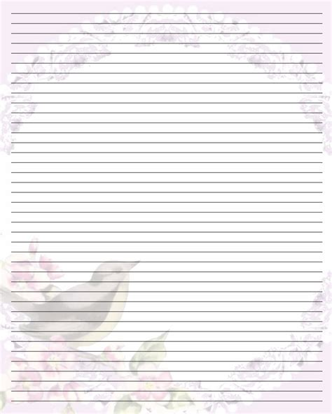 Best Photos Of Printable Writing Note Paper Free