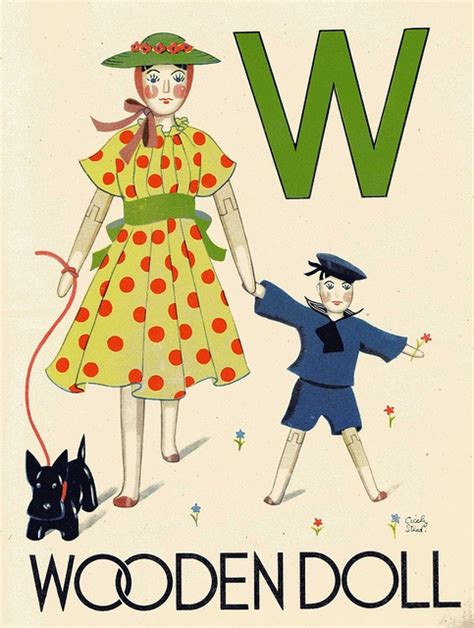 Wonder Abc Book, Illustrated By Ciceley Steed, W Is For