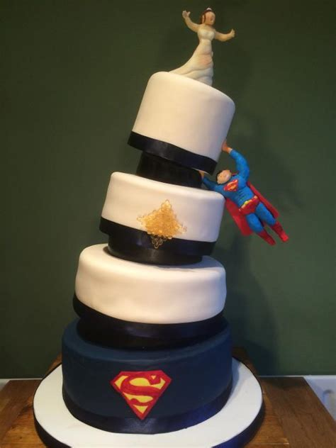 superman wedding cake  egor