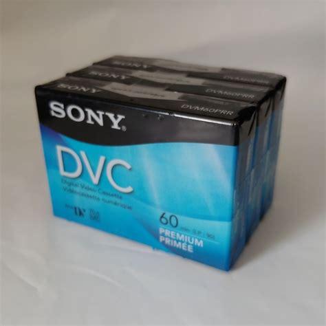 sony dvc digital premium mini dv video cassette tapes