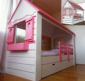 Cabane Chambre Fille : lit cabane en bois sur mesure pour enfant abra ma cabane ~ Teatrodelosmanantiales.com Idées de Décoration