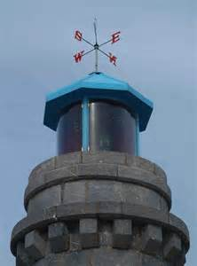 Weathervane Lighthouse with Light