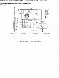 My 2002 Suzuki Grand Vitara Ac Compressor Quit Running