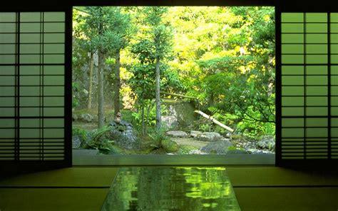 japan nature indoors zen wallpaper