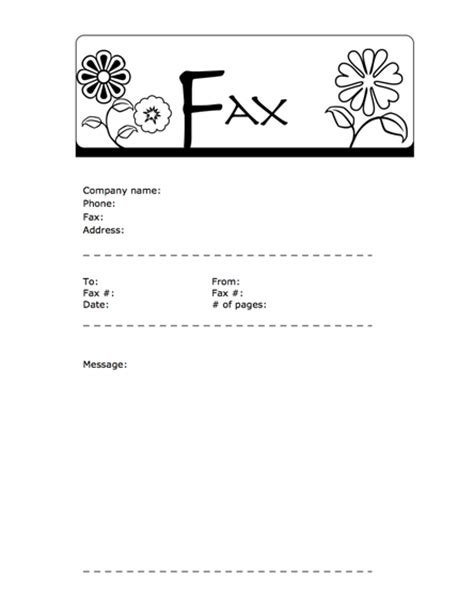 15178 fax cover sheet printable 9 best images of fax cover sheet template generic