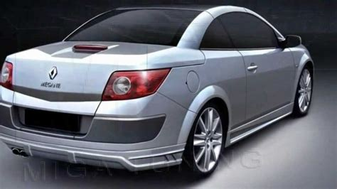 renault scenic 2005 tuning renault megane tuning body kit youtube