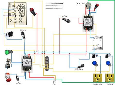 Plumbing Diagram For Brewing by Can Someone Look This Wiring Diagram Home Brew Forums