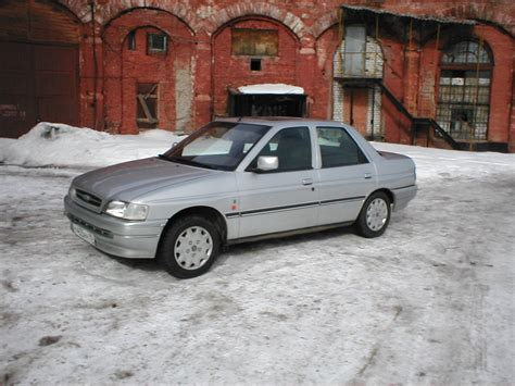 Ford Orion Technical Details, History, Photos On Better