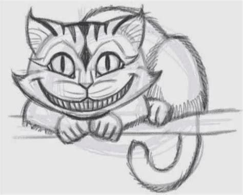 draw  cheshire cat easily