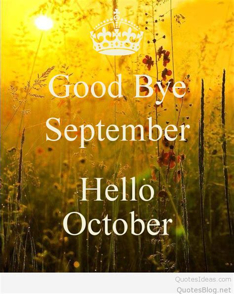 goodbye october quotes images pictures wallpapers