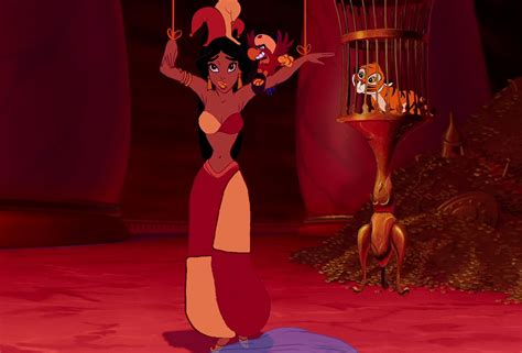 princess jasmine jafars staff on