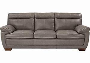 Furniture design ideas stunning grey leather furniture for Rooms to go gray leather sectional sofa
