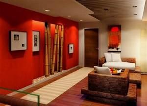 Deco Zen Salon : d coration salon zen bambou ~ Teatrodelosmanantiales.com Idées de Décoration